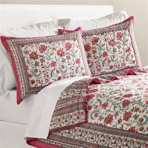 world market bedding floral tarani reversible bedding collection world market