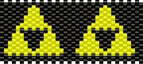 zelda triforce pattern zelda tri force pony bead patterns misc kandi patterns