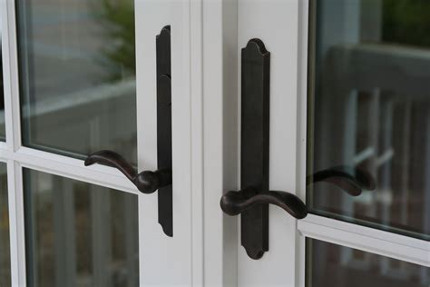door knobs for french doors french door handles these handles on the french door