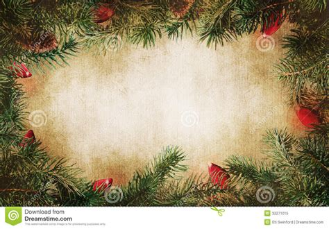 old fashioned christmas lights white pine tree branches with christmas lights stock image