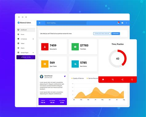 Free Bootstrap Admin Template Free Bootstrap Dashboard Templates Bootstrap Material Design Admin Template