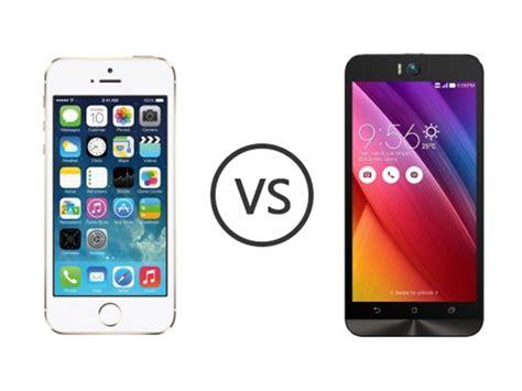 Hp Asus Zenfone 2 Laser Ze500kl Di Indonesia perbandingan bagus mana hp asus zenfone selfie vs apple