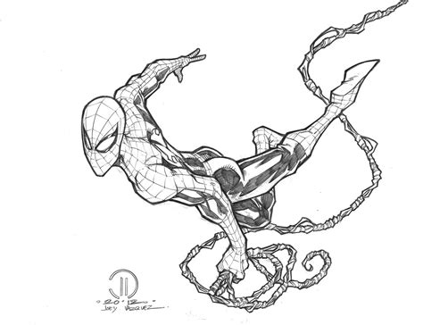 how to draw spiderman swinging spiderman sketches drawings spiderman realistic art