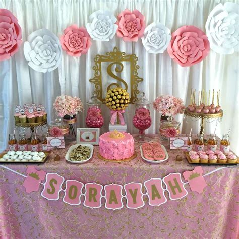 Gold Baby Shower Decorations by Pink And Gold Baby Shower Baby Shower Ideas Gold