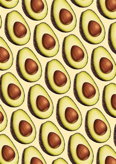Avocado Pattern avocado pattern by gilleran arts patterns en 2019