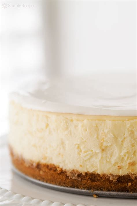 perfect cheesecake recipe simplyrecipes com