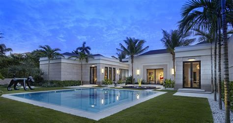Coastal House Plans by State Of The Art Palm Beach House Honored With Schuler