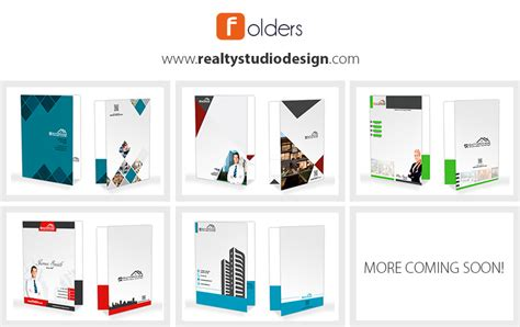Real Estate Folder Templates Realtor Folder Templates Custom Office Templates Folder 2016