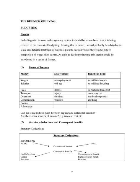 layout of a report junior cert junior cert business studies report writing