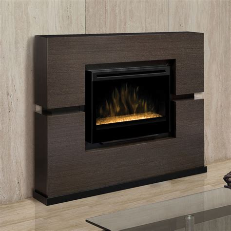 grey electric fireplace linwood electric fireplace mantel package w glass embers