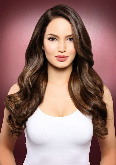 color for hair for filipino wpmen picture of sarah lahbati