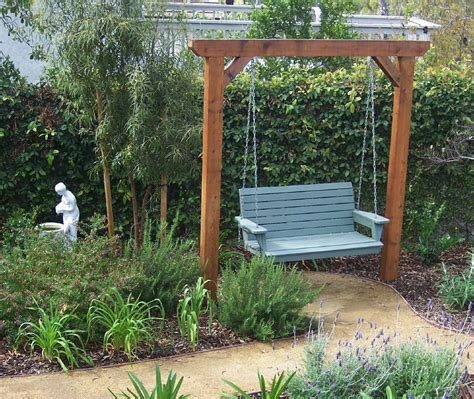 arbor swing frame the 2 minute gardener photo garden swing