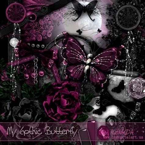 gothic butterfly wallpaper www pixshark com images