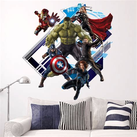 removable wall decoration 3d vinyl wars poster wall stickers