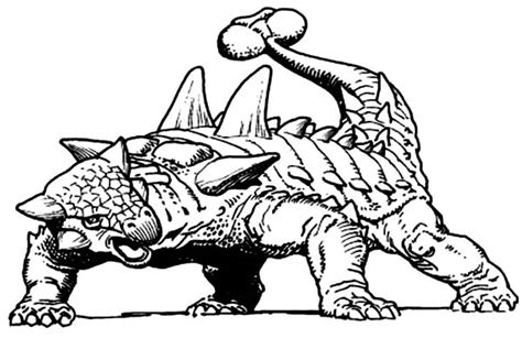 printable coloring pages ankylosaurus skeleton printable