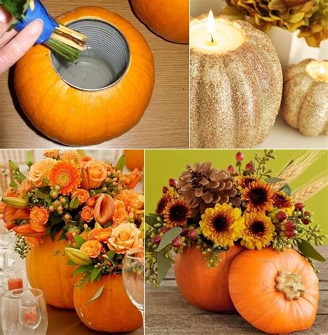 would you try a pumpkin vase or candleholder