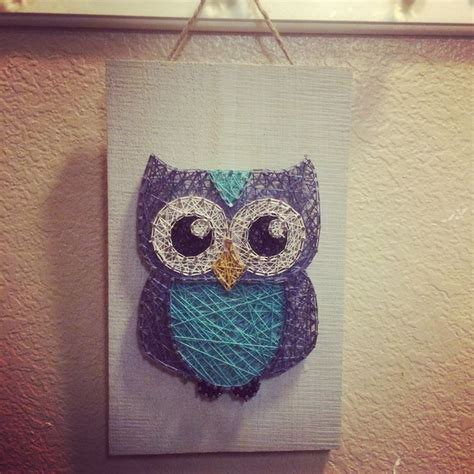 String Owl Template - 1000 images about string on diy string