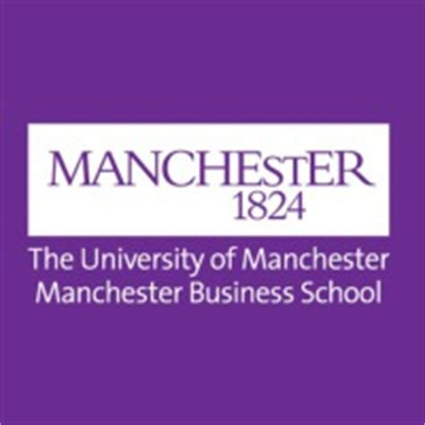 Of Manchester Mba Ranking by Manchester Business School