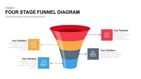 Four And Five Stage Funnel Diagram Powerpoint And Keynote Template Slidebazaar Funnel Chart Powerpoint