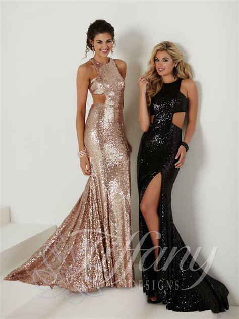 tiffany designs  prom dress prom gown