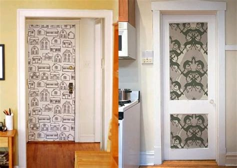 how to decorate a door by your own forces