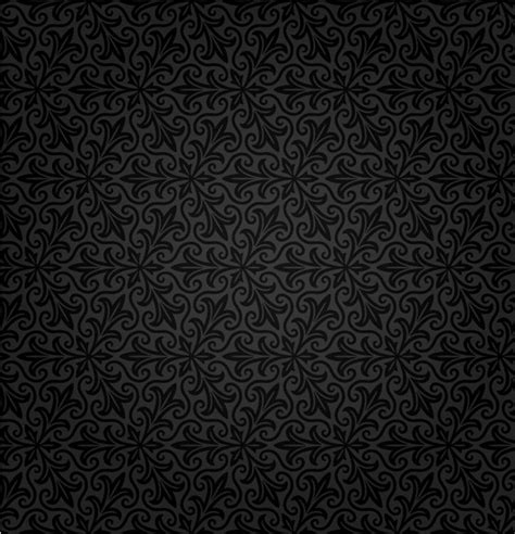 black pattern for photoshop black retro pattern background vector material my free