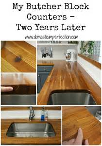 pros and cons of butcher block countertops diy projects gallery domestic imperfection