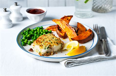 healthy fish and chips tesco real food