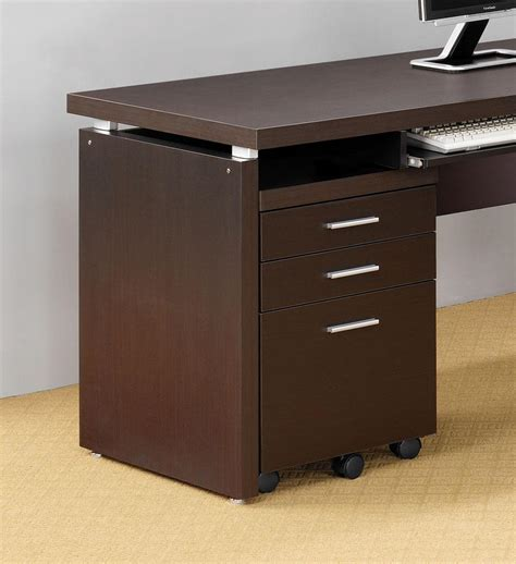 Computer Table With File Cabinet by Skylar Computer Desk Corner