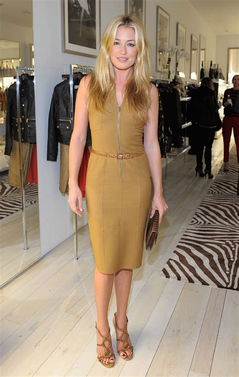 Cat Deeley At The Opening Of The Place Store Wearing Chanel by Cat Deeley Photos Photos Michael Kors Celebrates The
