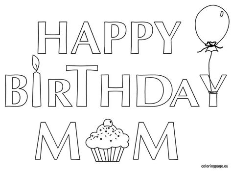 coloring pages of happy birthday signs 129 best images about coloring b day s parties more on