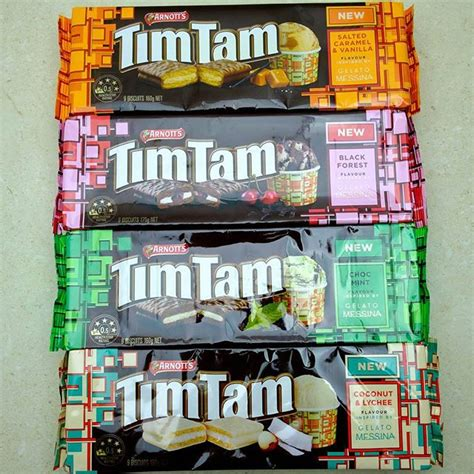 Tim Tam By Gelato Messina Coconut And Lyhchee Oh Goody New Tim Tams This Time Inspired By The