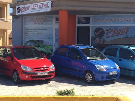 section car rental plus rent a car арендованные автомобили в иерапетра на