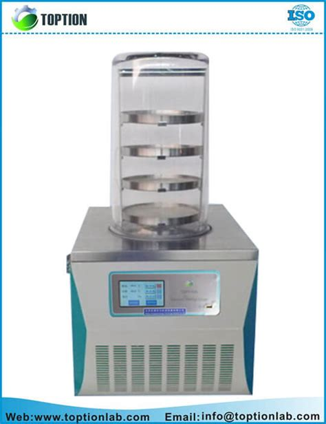benchtop vacuum freeze dryer manufacturer