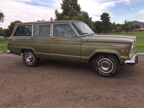 1970 jeep wagoneer interior 1970 jeep wagoneer arizona survivor
