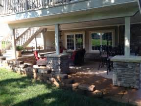 Under Deck Patio Ideas by Patio Under Deck Dream Patio Ideas Pinterest