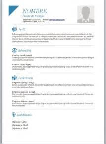 Plantilla Curriculum Vitae Para Completar Chile Modelos De Curriculum Vitae En Word Para Completar