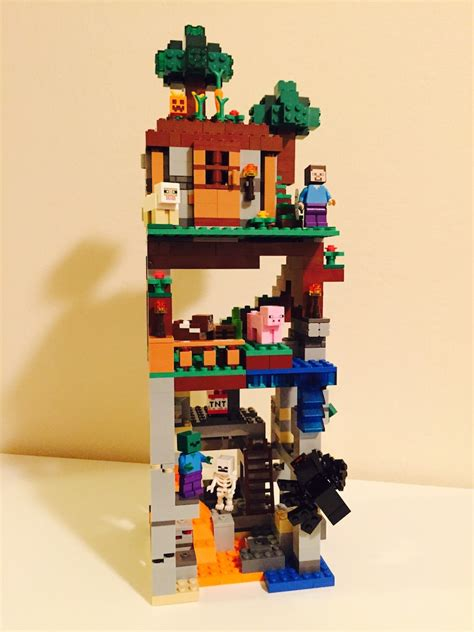 Micro Cabin Lego Minecraft Moc Had So Much Fun Making This Even