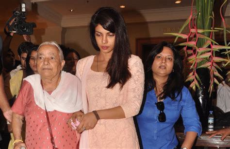 priyanka chopra meets cristiano ronaldo bollywood attends priyanka chopra s father s prayer meet