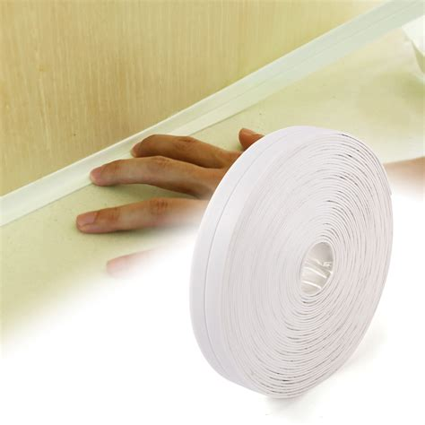 bathtub caulking tape bathroom shower kitchen adhesive sealant strip tape