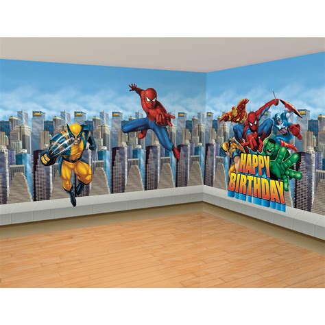 marvel kids bedroom marvel super hero bedroom wall decal ideas for kids