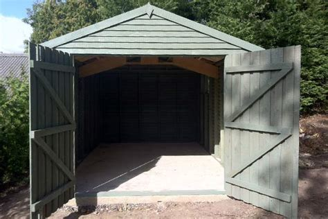Garage Storage Norfolk Wooden Garages Norfolk Uk