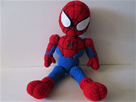 spiderman doll pattern ravelry crochet spiderman doll pattern by laurie lefave