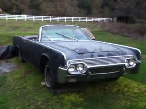 1961 lincoln convertible for sale two 1961 lincoln continental convertible top