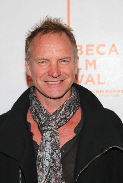 sting hair transplant sting in premiere of quot moon quot at the 2009 tribeca film