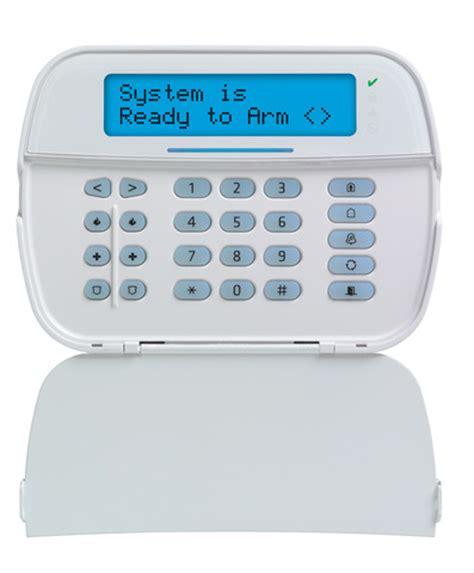 Alarm Dsc message lcd hardwired keypad dsc home security