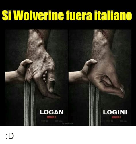 si wolverine fuera italiano logan logini march 3 marcii 3