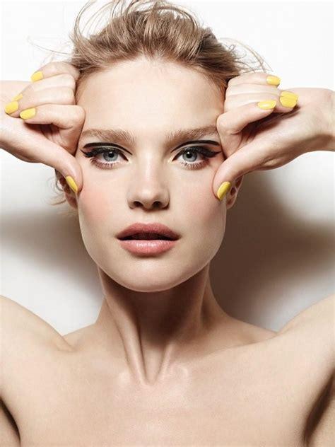 makeup beauty vodianova for etam cosmetics fall winter 2014
