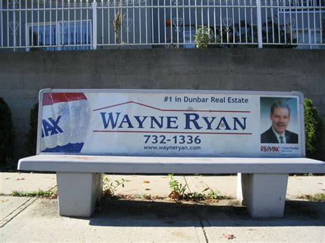 bus bench ads real estate advertising gets creative signkick blog
