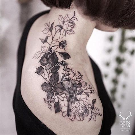 bird tattoo on girl s shoulder 70 awesome shoulder tattoos bird shoulder tattoos